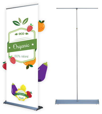 Silverstep Roll-Up Banner Stand