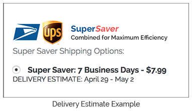 delivery estimate example
