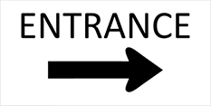 directional banners