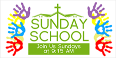 Sunday School Banners