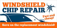 Windshield Repair Trailer Banners