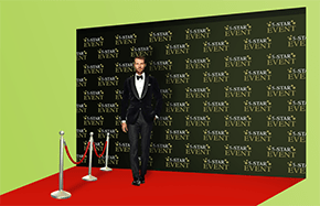 Red Carpet Backdrops