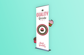 steppy banner stand