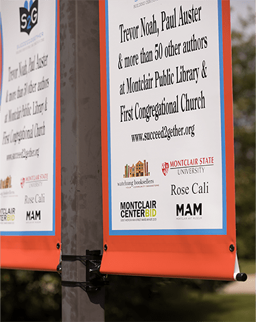 Single Sided Pole Pocket Banners