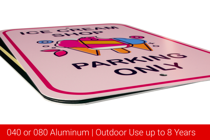 040 or 080 Aluminum Outdoor use up to 8 years
