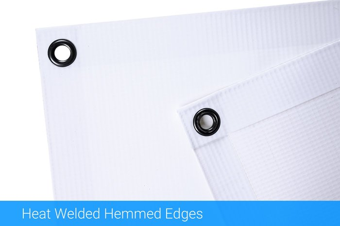 Heat Welded Hemmed Edges