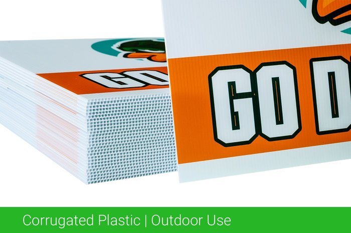 Corrugated Plastic Outdoor Use
