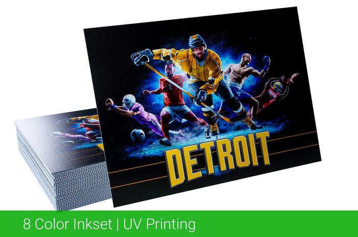 8 Color Inkset UV Printing