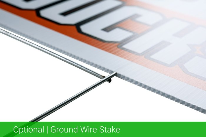 Optional Ground Wire Stake