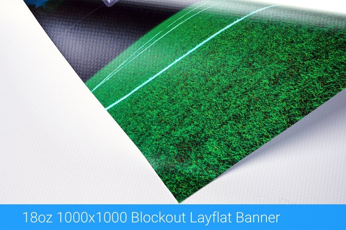 18 oz Blockout Layflat Outdoor Banner