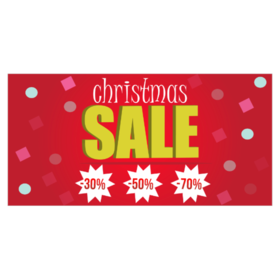 Christmas Gift Sale Banners From $9.00