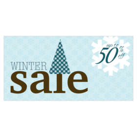 Winter Sale Banners Security Device Banners