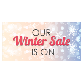 Winter Sale Banners Magenta Banners