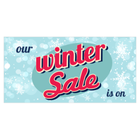 Winter Sale Banners Four Banners