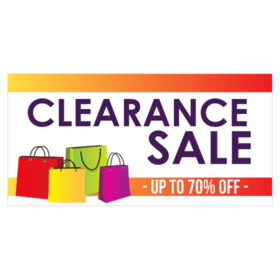 Clearance Sale Banners Printastic Com
