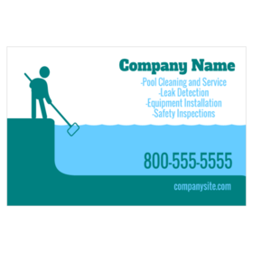 pool cleaning logo. Fine Pool Pool Cleaning Magnetic Sign With Stick Figure Graphic And  Services List To Pool Cleaning Logo