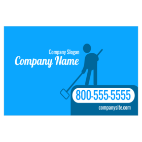 pool cleaning logo. Pool Cleaning Magnetic Sign With Stick Figure Holding Net Graphic Logo