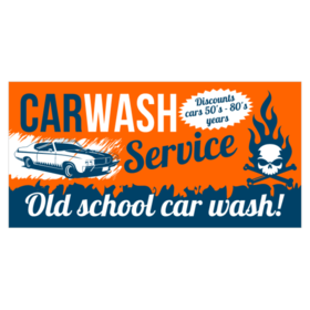 Car Wash Signs Banners Car Wash Shops Use For Advertising - Vinyl decals car wash