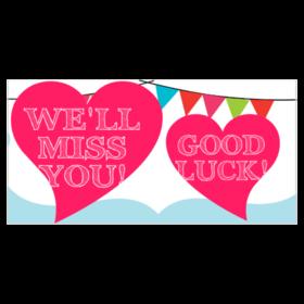 Custom Farewell Going Away Banners | Printastic