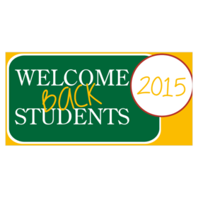 Welcome back banners pertamini custom banners welcome new students to your school printastic reheart Image collections