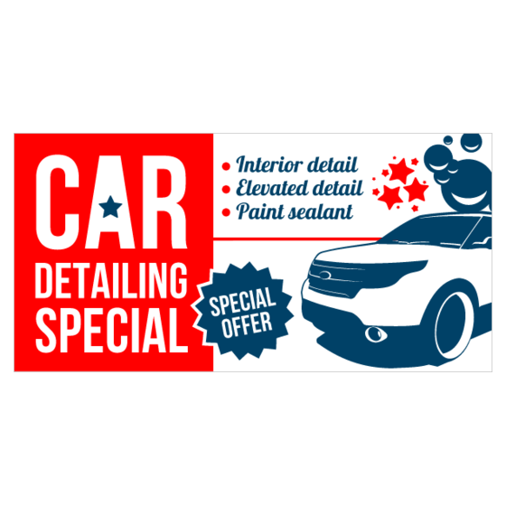 Advertise Effectively With Auto Detailing Banners Printastic Com
