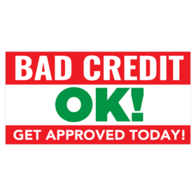 Bad Credit Banners