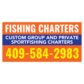Fishing Charters Banners