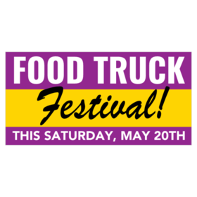 Food Truck Banners