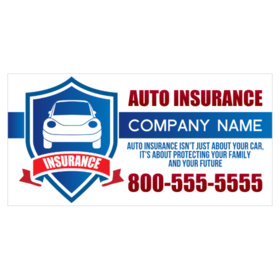 Auto Insurance Banners
