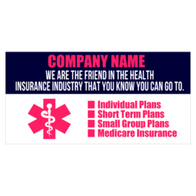 Health Insurance Banners