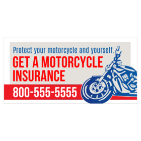 Motorcycle Insurance Banners