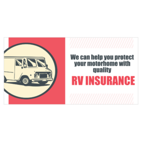 RV Insurance Banners
