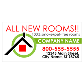 Custom lodging banners printastic hotels reheart Images